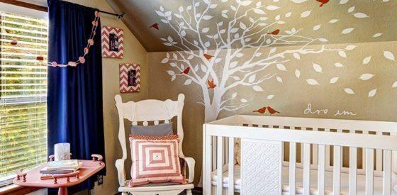 Dekorationsideen für das Babyzimmer