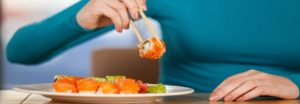Achtung vor Sushi während der Schwangerschaft 2