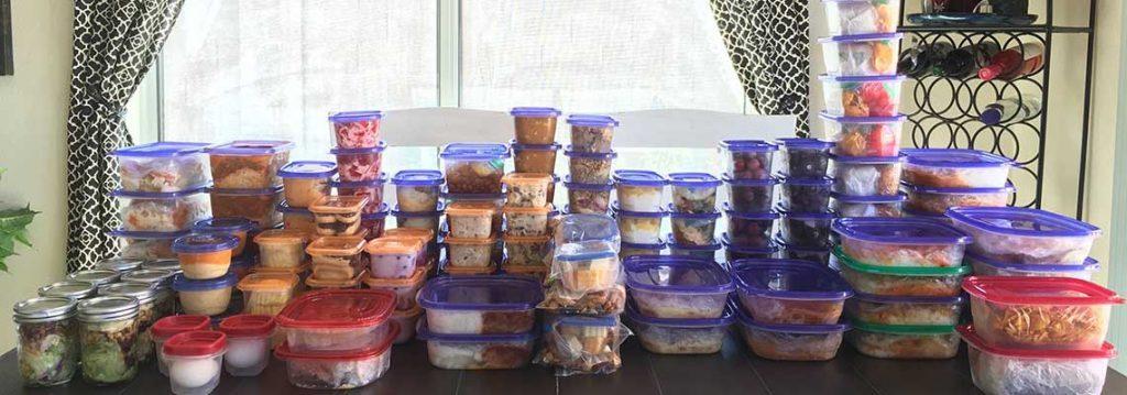 Vorbereitung auf das Baby: Das Vorkochen von einfachen Mahlzeiten