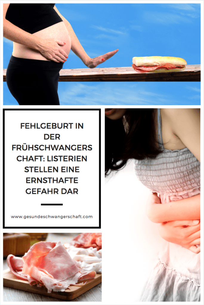 Fehlgeburt in der Frühschwangerschaft: Listerien stellen eine ernsthafte Gefahr dar