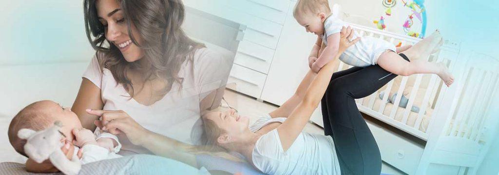 Wie Sie nach der Schwangerschaft wieder einen FLACHEN Bauch bekommen! Sogar nach einem Kaiserschnitt!