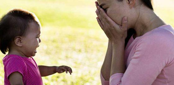 Gesundheit der Mutter: Es ist okay, sich nicht gut zu fühlen