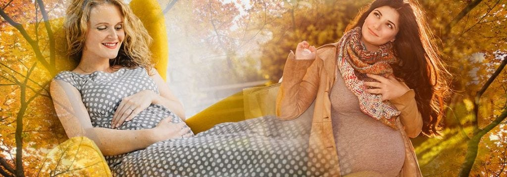 Stocken Sie Ihre Umstandsmode für den Herbst auf