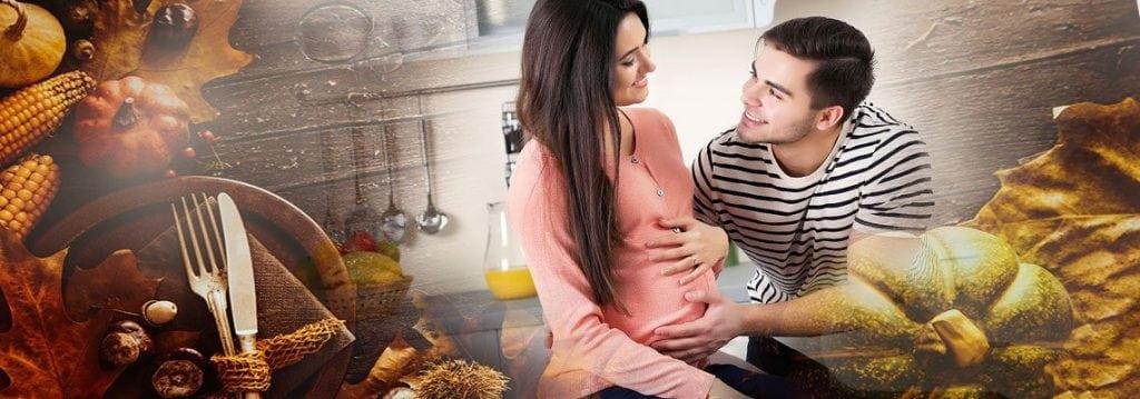 Schwangerschaftstipps für ein perfektes Erntedankfest