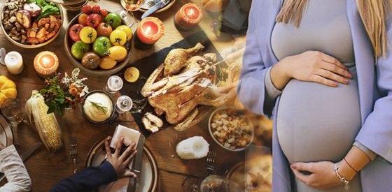Leckere Feiertagsgerichte, bei denen Sie im Falle einer Schwangerschaft vorsichtig sein sollten