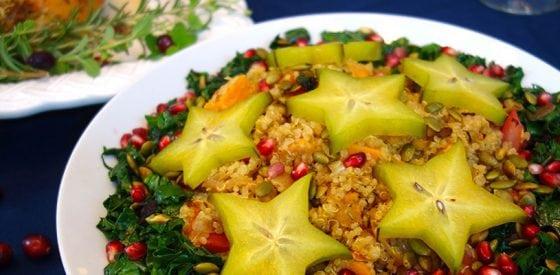 Eine gesunde Feiertagsbeilage: Quinoa-Salat