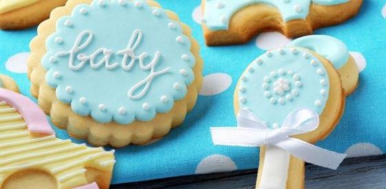 Sagen Sie es mit Süßem: Kekse, um Ihre Schwangerschaft zu verkünden