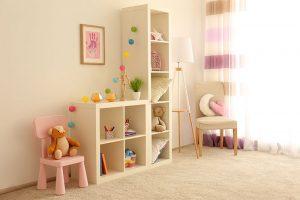 Tipps, um im Kinderzimmer Platz zu schaffen
