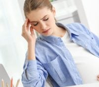 Behandlung von Kopfschmerzen während der Schwangerschaft