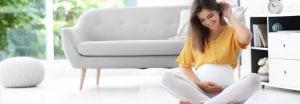 Während der Schwangerschaft eine gute Körperhaltung bewahren 1