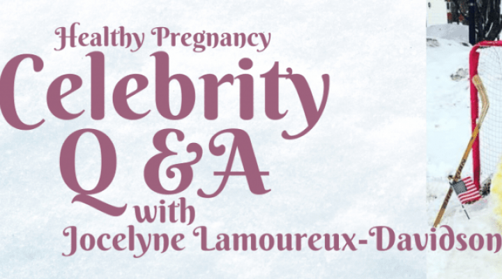 Interview zum Thema Schwangerschaft mit Goldmedaillengewinnerin Jocelyne Lamoureux-Davidson
