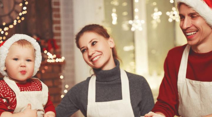 Neue Feiertagstraditionen, wenn sich Nachwuchs ankündigt
