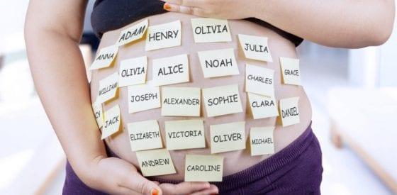 Liste der beliebtesten Babynamen für 2019 2