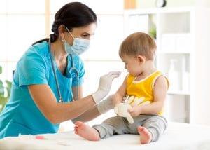Immunisierung in den ersten 18 Monaten des Babys