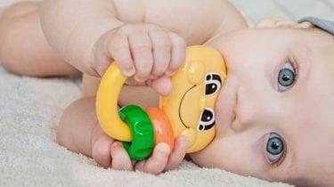 Tipps, um zahnende Babys zu beruhigen 1