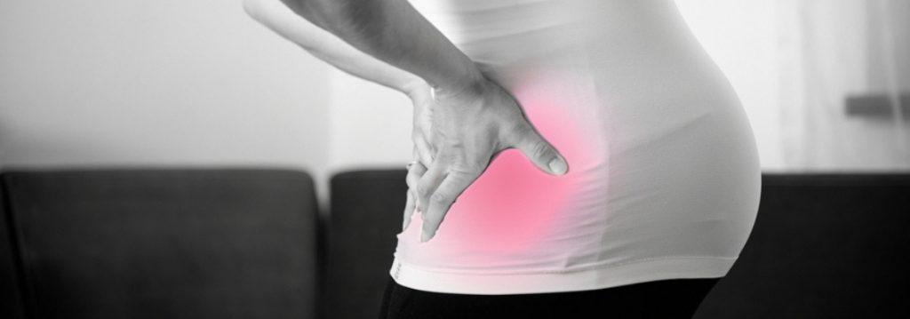Wehenschmerzen mittels Gegendruck lindern