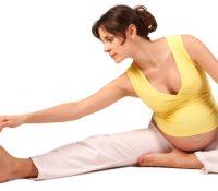 Dehnübungen während der Schwangerschaft
