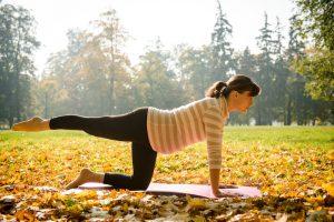 Leichte Aerobic während der Schwangerschaft