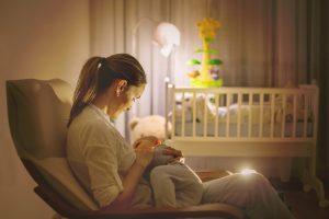 Bereiten Sie sich darauf vor, Ihr Baby nachts zu füttern