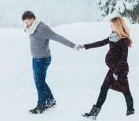 Wie Sie auch während der Schwangerschaft gesund durch den Winter kommen