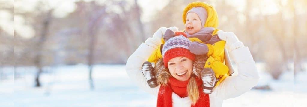 Wie Sie Ihr Baby im Winter warm halten