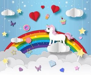 Bastelideen fürs Regenbogenkinderzimmer 1