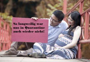 Süße Ideen für Schwangerschaftsankündigungen bei Quarantäne 5